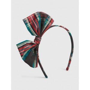 Toddler Plaid Bow Headband