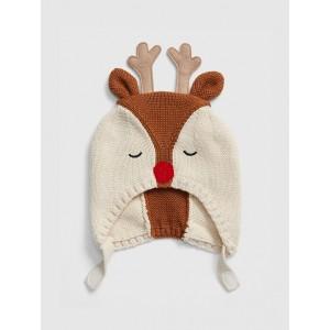 Baby Reindeer Trapper Hat