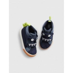 Toddler Dino Hi-Top Sneakers