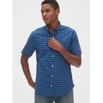 Lived-In Stretch Poplin Short Sleeve Shirt