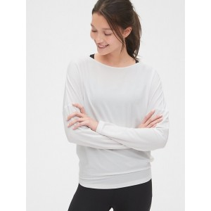 GapFit Breathe Cross-Back Long Sleeve T-Shirt