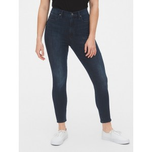 Sky High True Skinny Ankle Jeans with Secret Smoothing Pockets in 360 Stretch