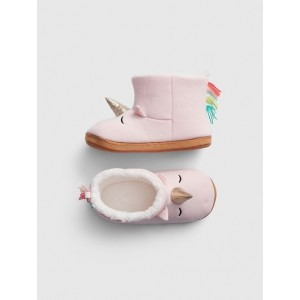 Kids Unicorn Slipper Booties