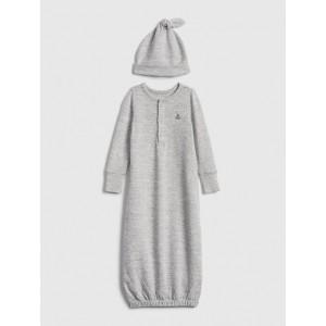 babyGap Brannan Bear Softspun PJ Gown Set