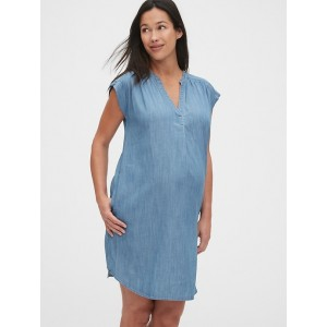 Maternity Popover Dress in TENCEL™
