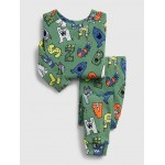 babyGap Monster PJ Set