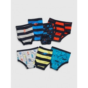 Toddler Space Briefs (7-Pack)