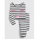 babyGap Graphic Stripe PJ Set