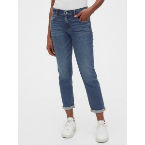 Mid Rise Girlfriend Jeans