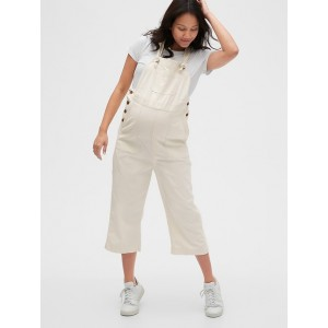 Maternity TENCEL™ Crop Overalls