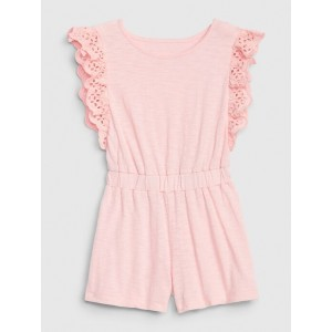 Toddler Ruffled Tank Romper
