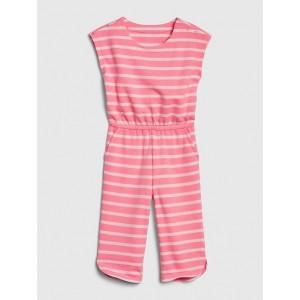 Toddler Striped Jumpsuit