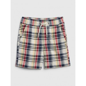 Toddler Plaid Pull-On Shorts