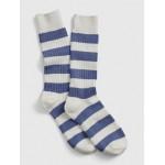 Stripe Crew Socks