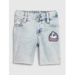 Toddler Denim Tumble Shorts