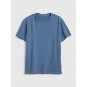 Pique Crewneck T-Shirt