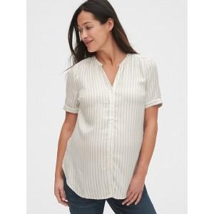 Maternity Button-Down Shirt