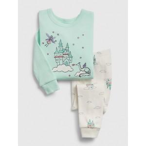 babyGap Fairy Castle Long Sleeve PJ Set