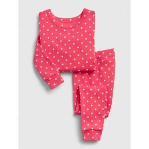 babyGap Polk-a-dot Long Sleeve PJ Set