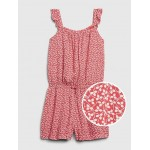 Kids Ruffle Sleeveless Romper