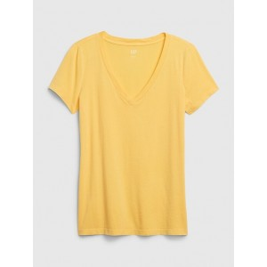 Vintage Wash V-Neck T-Shirt