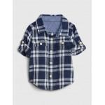 Baby Plaid Shirt