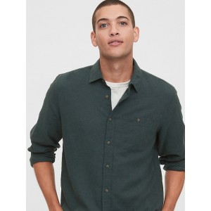 Lightweight Twill Shirt in Untucked Fit