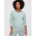 Maternity Waffle-Knit T-Shirt