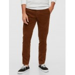 Slim Taper Corduroy Pants with GapFlex