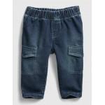 Baby Pull-On Slim Cargo Pants