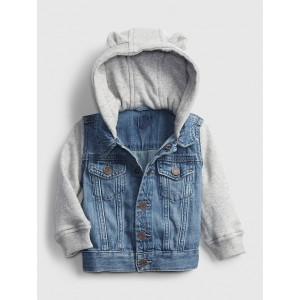Baby Denim Knit Jacket
