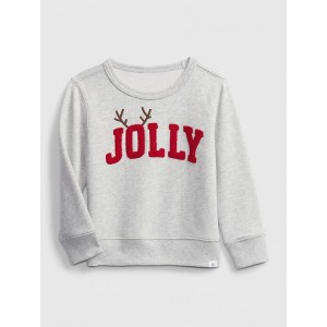 Toddler Crewneck Graphic Sweater
