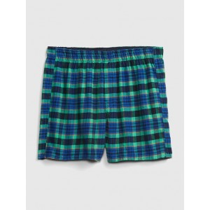 "4"" Flannel Boxers"