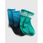 Kids Dip-Dye Tube Socks (2-Pack)
