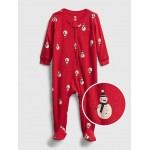 Baby Holiday Graphic One-Piece