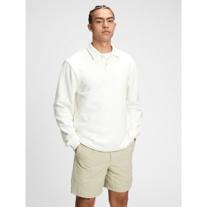 French Terry Polo Shirt