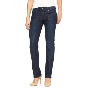 Low Rise Real Straight Jeans