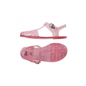 Sparkle woven jelly sandals