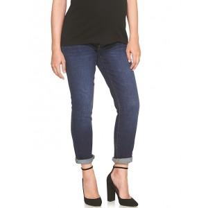 Maternity demi panel best girlfriend jeans