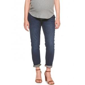Maternity Inset Panel Best Girlfriend Jeans