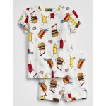 Barbecue Short Pajama Set