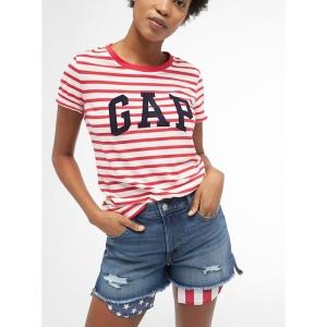 High Rise 3&#34 Americana Denim Shorts