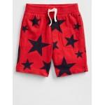 5&#34 Print Pull-On Shorts