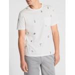 Print Short Sleeve Pocket T-Shirt