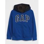 Kids Cozy Gap Logo Hoodie Sweatshirt