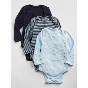 Baby Print Bodysuit (3-Pack)