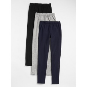 Kids Leggings in Stretch Jersey (3-Pack)