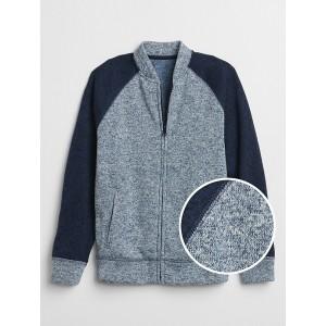 Bomber Sweater in Fleece