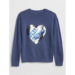 Flippy Sequin Crewneck Sweater