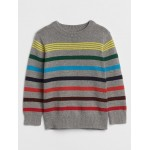 Crazy Stripes Crewneck Sweater